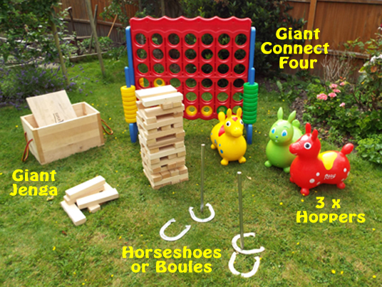 Special price Giant Garden Games Hire Southampton Connect 4 Jenga Horseshoes