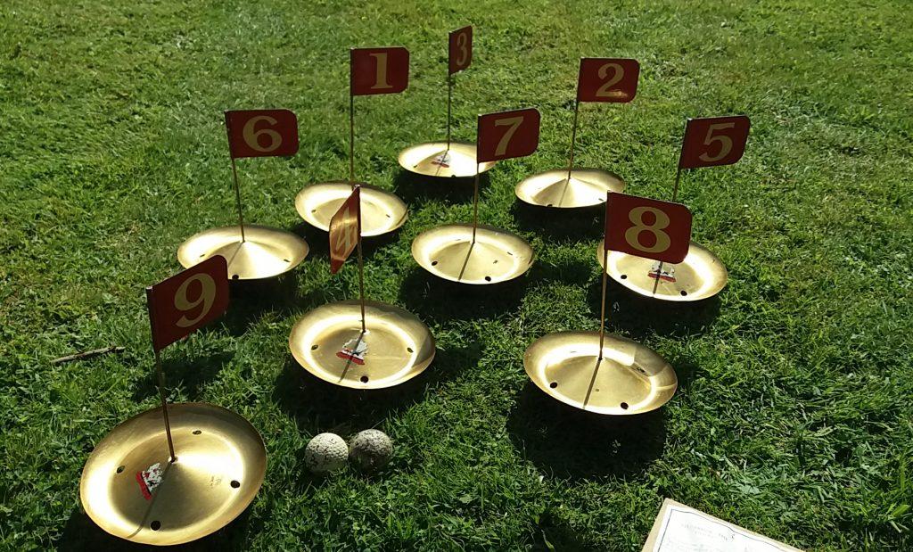 Vintage Garden Gold Game Party Hire 1930s 1940s Prop
