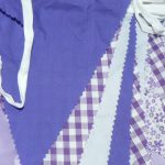 Purple Check Bunting Hire, Southampton