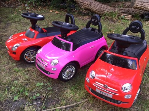 Fiat 500 Ride on Car BMW Mercedes toy cars hire birthday party