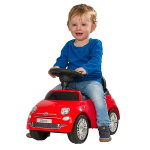 Fiat 500 ride on racer car for toddlers preschool children